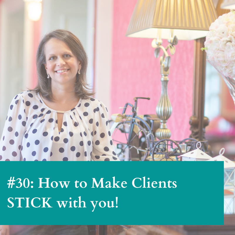 How to make clients stick with you