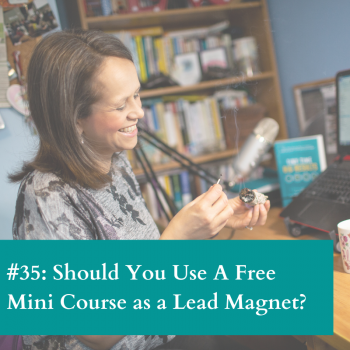 Free mini course as a lead magnet