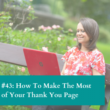 Get Thank you pages right