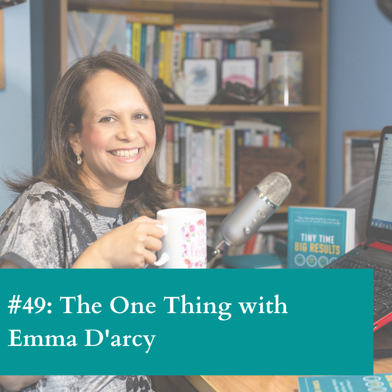 The One thing with Emma D'arcy