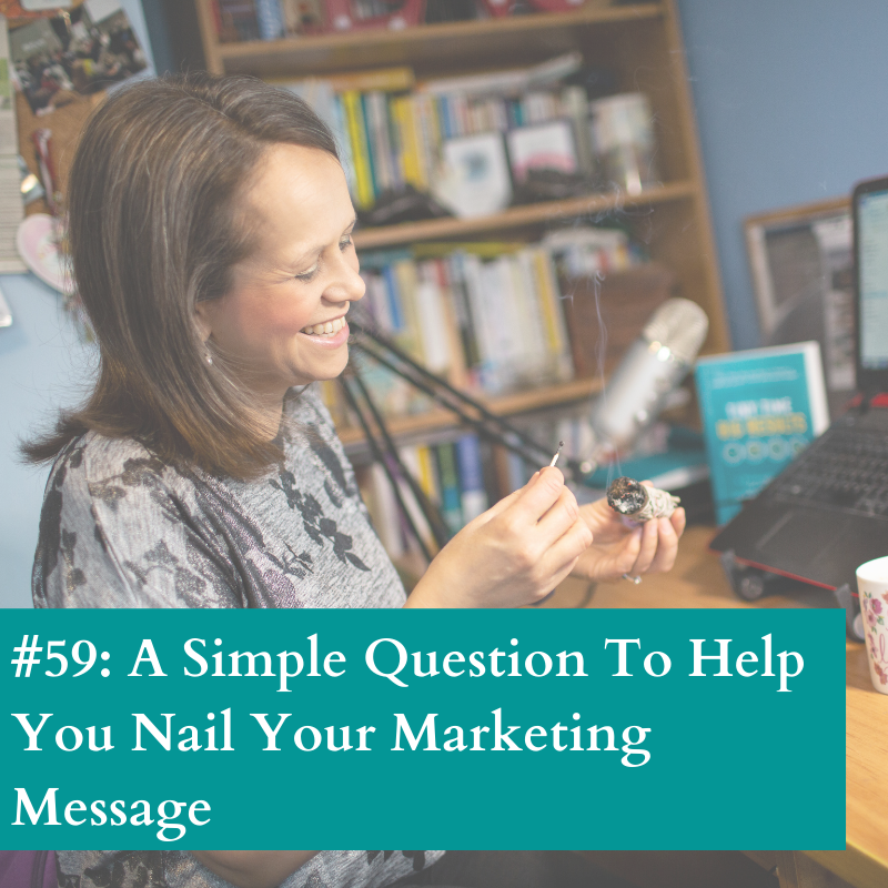 Nail your marketing message