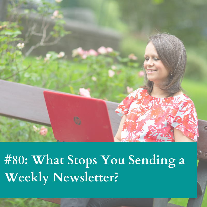 Benefit of a weekly newsletter